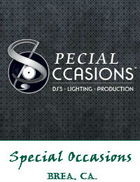 Special Occasions Orange County Wedding DJ In Brea California
