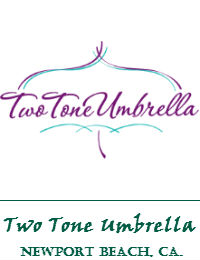 Two Tone Umbrella Makeup Artist Orange County In Newport Beach California