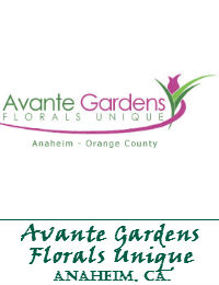 Avante Gardens Wedding Flowers In Anaheim California