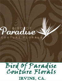 Bird Of Paradise Couture Florals In Irvine California