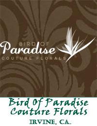 Bird Of Paradise Couture Florals In Irvine California