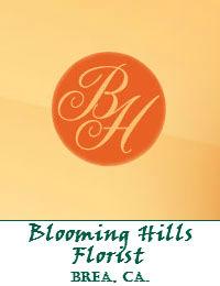 Blooming Hills Florist In Brea California