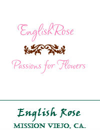 English Rose Wedding Flowers In Mission Viejo California