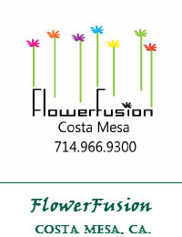 FlowerFusion Wedding Flowers In Costa Mesa California