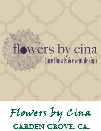 Flowers By Cina Wedding Flowers In Garden Grove California