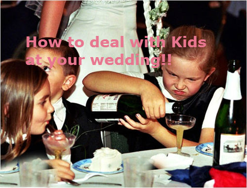 How To Avoid Wedding Disasters With Kids