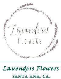 Lavenders Flowers In Santa Ana California