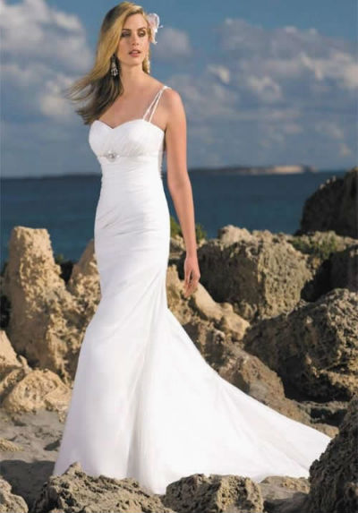 Wedding dresses orange county short beach wedding dresses for Short wedding dress for beach