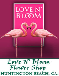 Love N Bloom Flower Shop In Huntington Beach California