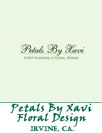 Petals By Xavi Floral Design In Irvine California