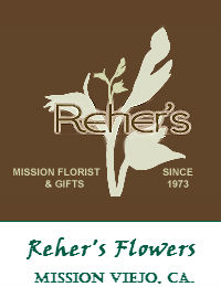 Rehers Wedding Flowers In Mission Viejo California