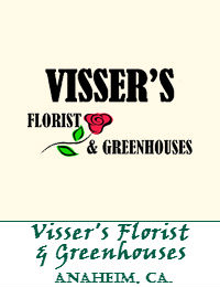 Vissers Florist And Greenhouses In Anaheim California