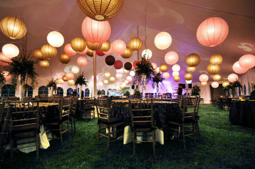 paper lanterns for weddings