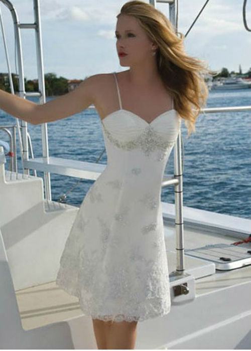 short cheap wedding dresses in Orange County