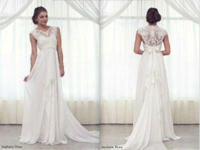Wedding Dress Empire Waist