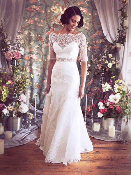 wedding dresses empire waist