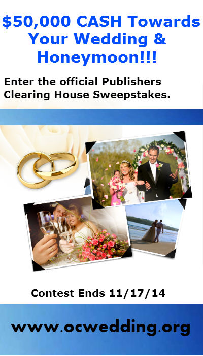 Wedding Sweepstakes Publishers Clearinghouse