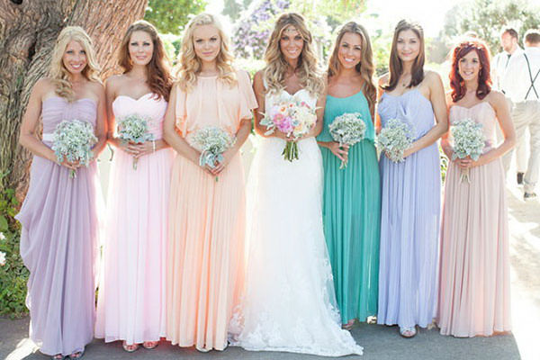 Wedding Dresses Orange County - Bride's Guide to Bridesmaid Dresses