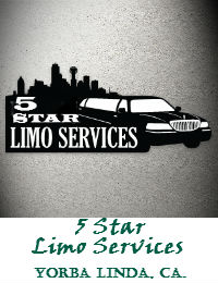 5 Star Limo Services In Yorba Linda California