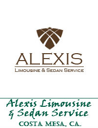 Alexis Limousine And Sedan Service In Costa Mesa California
