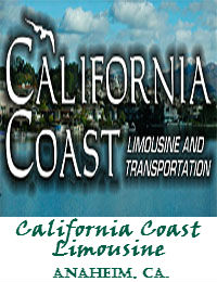 California Coast Limousine Service In Anaheim California