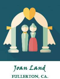 Joan Land Wedding Officiant Orange County In Fullerton California