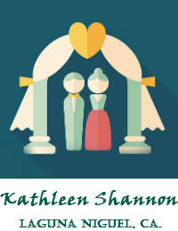 Kathleen Shannon Wedding Officiant Orange County In Laguna Niguel California