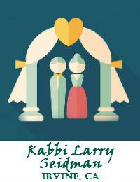 Rabbi Larry Seidman Wedding Officiant Orange County In Irvine California