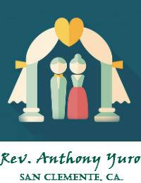 Rev Anthony Yuro Wedding Officiant Orange County In San Clemente California