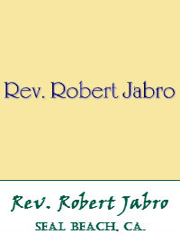 Rev Robert Jabro Wedding Officiant Orange County In Seal Beach Cal