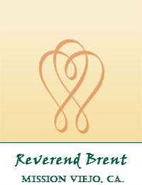 Reverend Brent Wedding Officiants Orange County In Mission Viejo California