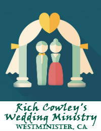 Rich Cowleys Wedding Officiant Orange County In Westminster California