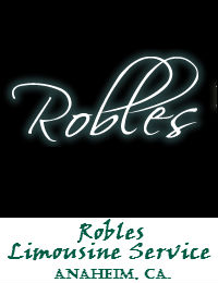 Robles Limousine Service In Anaheim California
