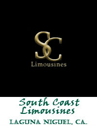 South Coast Limousines wedding Limo Service In Laguna Niguel California