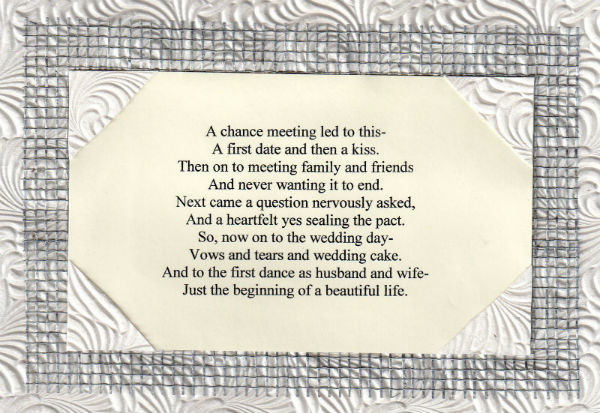 Http Www Ocwedding Org Wedding Poem A Chance Meeting Led