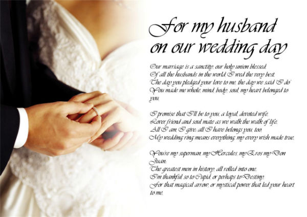 httpwwwocweddingorg wedding poem for my husband on