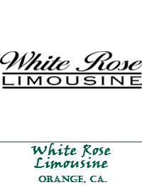 White Rose Limousine In The City Of Orange California