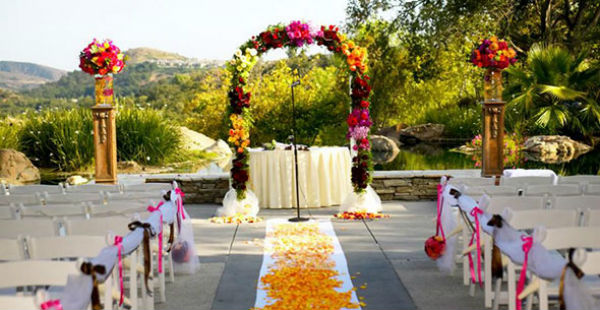 Dove Canyon Golf Club Wedding Reception And Ceremony In Rancho Santa Margarita Ca