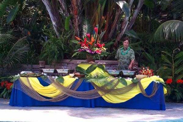 Hawaiian Luau Orange County Wedding Catering