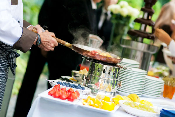 Pacific Club Wedding Catering In Corona Del Mar