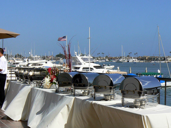 Seaside Wedding Catering In Newport Beach