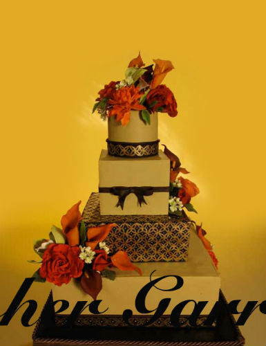 Christopher Garrens Wedding Cakes In Costa Mesa