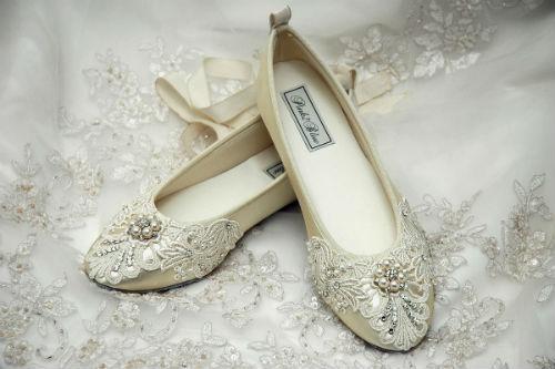 Cute Flat Wedding Shoes - Wedding Venues In Orange County