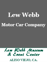 Lew Webb Car Company Wedding Venue In Aliso Viejo