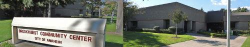 Brookhurst Community Center In Anaheim