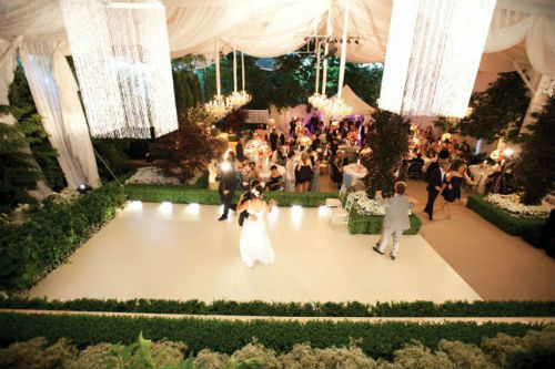 Orange County Wedding Venue Flooring