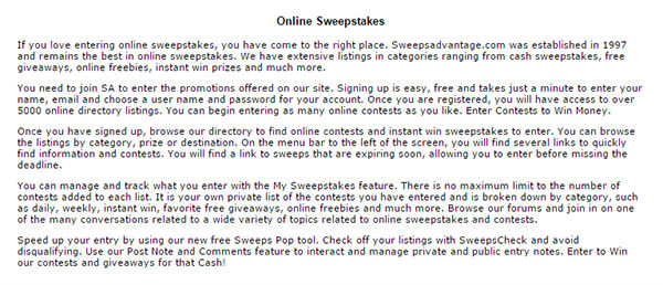 sweepsadvantage daily sweepstakes sweepsadvantage wedding venues in orange county orange 2013
